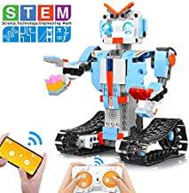 AOKESI Building Block Robot Kits for Kids Remote & APP Control Robot Toys Engineering Science STEM Building Toys for 8,9-12 Year Old Boys and Girls