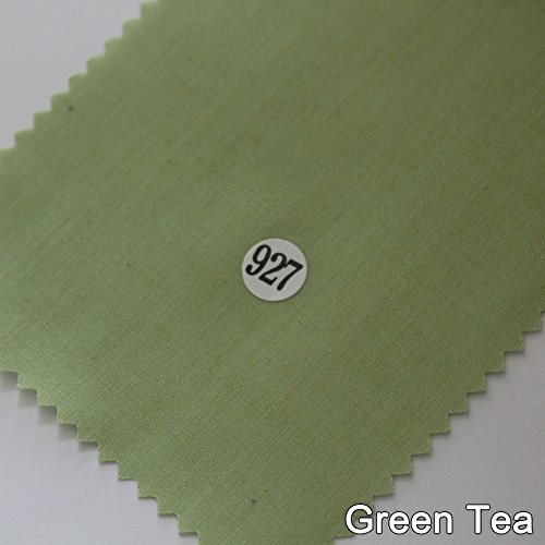 65yds Single Bias Bindingstape Poly Katoen Trim 32mm Effen 92 Kleur Groene Thee(927)