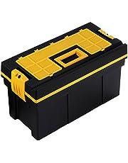 Terry Store-Age Spa Tool Chest 22 gereedschapskoffer, zwart/geel