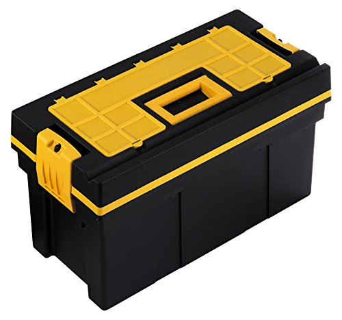 Terry Store-Age Spa Tool Chest 22 Valigetta Portautensili, Nero/Giallo