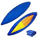 Hievomi Funda universal profesional para almacenamiento de kayak, canoa, barco, impermeable, anti-UV, antipolvo, para almacenamiento de kayak de 3,5 a 6,5 m, disponible en dos colores