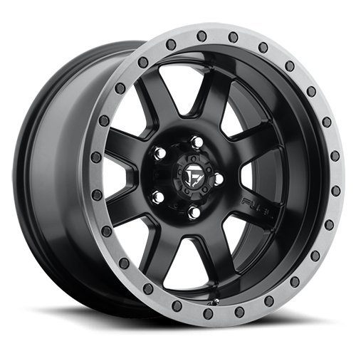 Fuel Offroad Wheels D551 18x10 TROPHY 5x5.0 BD4.50 -24 78.1 Matte Black