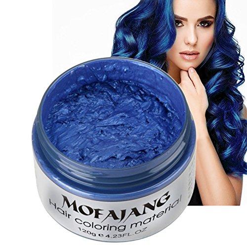 Cocohot Haarfarbe Wachs Wax Haarfarbe Dye einmalige Form Paste Sieben Farben Erhältlich