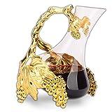N / A 1L Vino de la Jarra, sin Plomo, Creativo Cristal garrafa, 1000 ml, de Cristal de aireación del Vino de la Jarra, Set