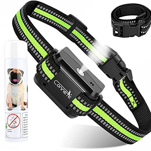 Collier anti aboiement Citronella pour chiens, [1Citronella Spray] Collier de dressage imperméable, collier anti aboiement sans choc, rechargeable et sûr.