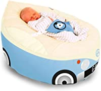Gaga Cuddlesoft Iconic Campervan Baby Bean Bags - Choose Your Colour - Baby Blue