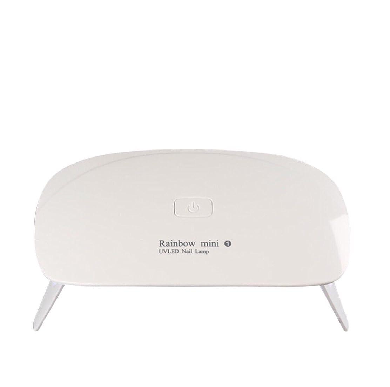 飢饉専門論理的に【ネイルウーマン】LEDライト/UV硬化ライト 5W 折りたたみ式 コンパクト USB給電可能