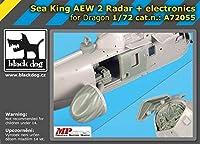 ブラックドッグ A72055 1/72 シー キング AEW 2 レーダー+エレクトロニクス (ドラゴン用)