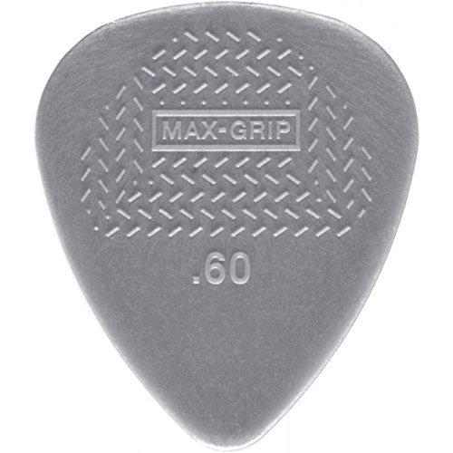 Dunlop 449P.60 Max-Grip Nylon Standard, Light Gray, .60mm, 12/Player's Pack