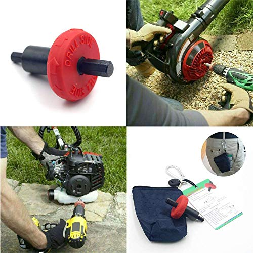 Best Price! Feileng Drill Bit JumpStart with Storage Bag and Hook for Electric Start Handheld Power ...