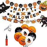SHUIBIAN - Set de decoración para Halloween, Halloween, decoración para casa, Mesa y jardín