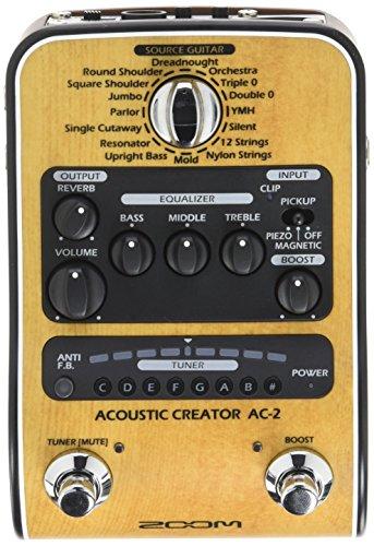 Zoom - AC-2/IFS - preamp pedale per chitarra acustica