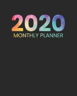 2020 Monthly Planner: January to December Agenda Monthly Calendar V1 (12 Month Planners)
