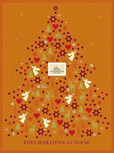 Lauensteiner Adventskalender Marzipan - Auslese 1x 290g