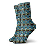 KQJH calcetines US Air Force USAF 118th ASOS Squadron Men's Essential Casual Cotton Crew Socks