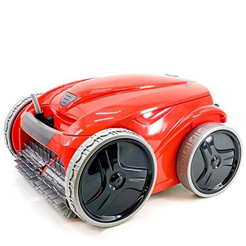 Zodiac FR 3485 Red Robot limpiafondos Piscina (Suelo, Pared, Linea de flotación) Tecnología Vortex, Rojo