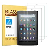 [3 Pack] Screen Protector for Fire 7/Fire 7 Kids Edition(9th/7th Gen), apiker High Definition Tempered Glass...