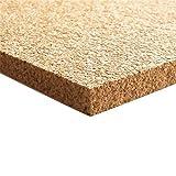Bodentrend XXL Korkplatte Pinnwand 915 x 610 x 10 mm stark | Hochwertige Korkplatte | Geeignet als Pinnwand, Modellbau oder als Bastel-Unterlage, Trittschalldämmend, Wärmedämmen