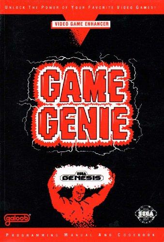 Game Genie Programming Manual & Codebook for Sega Genesis - Edition 2 [Paperback] [1992] Galoob