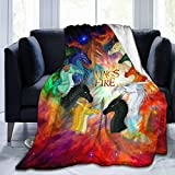 EAROBA Wings of Fire Blanket Warm Plush Cozy Soft Blankets for Chair/Bed/Couch/Sofa 50'x40'