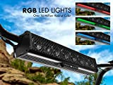 """BOSS Audio Systems Sistema de Audio BRT27A 27A € Barra de Sonido """"Bluetooth, Resistente a la Intemperie, Las Luces RGB Amplificador Incorporado, para su Uso con ATV/UTV/SideXSide, con"""