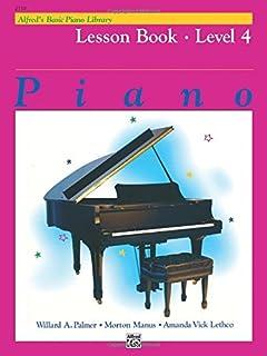 Alfred's Basic Piano Library Lesson Book, Bk 4 by Willard A. Palmer Morton Manus Amanda Vick Lethco(1982-11-01)