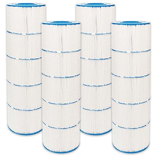 4 Guardian Pool Spa Filter Replaces PA100N, Unicel: C-7487, Filbur: FC-1270, CX870-XRE, C4000 Hayward
