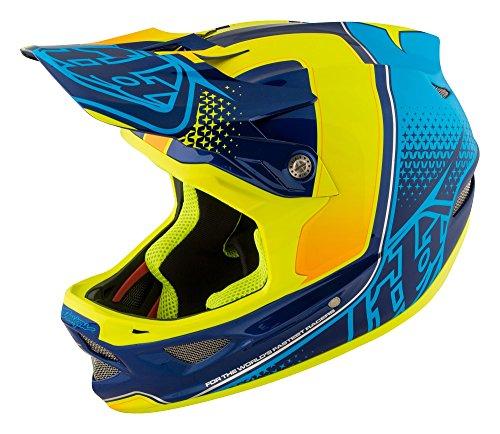 Troy Lee Designs Downhill-MTB Helm D3 Gelb Gr. L