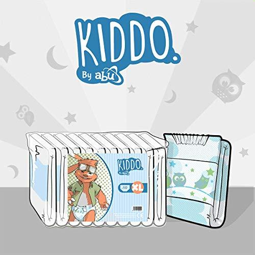 Kiddo by ABU Diapers - Pack of 10 (Medium)