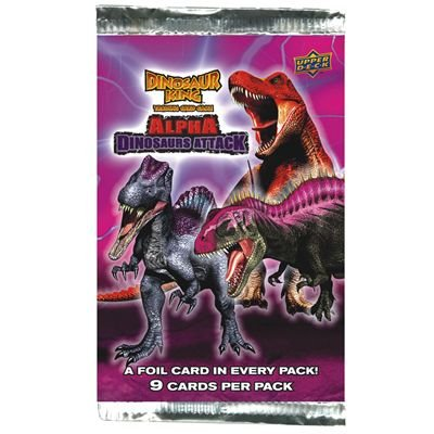 201274 - Upper Deck - Dinosaur King - Alpha Dinosaurs Attack Booster Pack
