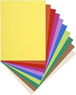 Exacompta - Réf. 160001E - Paquet de 100 Chemises FLASH 220 100% Recyclé - 24x32cm - Couleurs Assorties