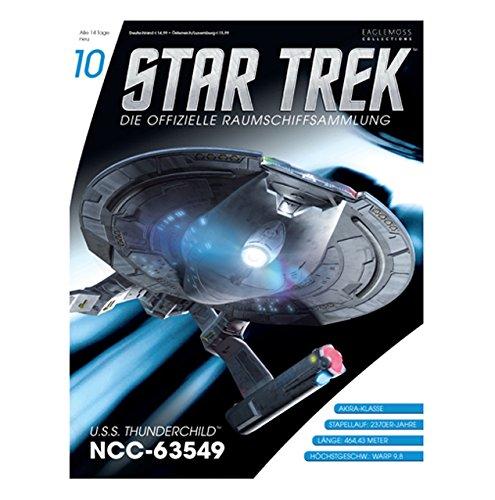 Star Trek - Die offizielle Raumschiffsammlung #10 - USS Thunderchild NCC- 63549 (Raumschiff & Magazin)