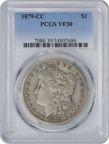 1879 CC Morgan Dollar VF30 PCGS