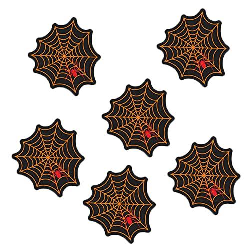 Mungowu Pegatinas de Pared de Halloween, Pegatina de Tela de AraaA Divertida de Terror para Suelo, Pared, Ventana, Puerta, Pegatinas de Vidrio, DecoracióN, Accesorios de Terror