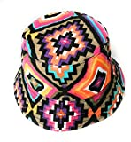 KGM Accessories Sombrero de sol reversible NAVAJO con estampado nativo americano