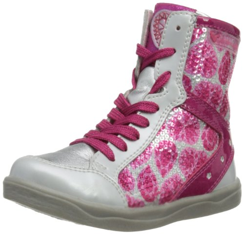 Agatha Ruiz de la Prada 131961, Bottes Fille - Rose - Rose, 7 UK Child