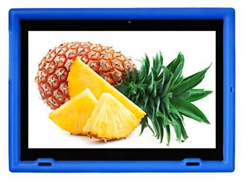 Bobj Rugged Case for Lenovo Miix 320 - BobjGear Custom Fit - Patented Venting - Sound Amplification - BobjBounces Kid Friendly (Batfish Blue)