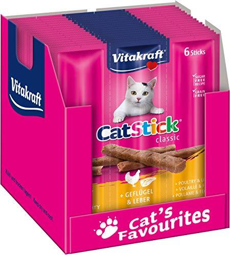 Vita Fuerza gato Snack Cat de Stick Mini 10 unidades (6 palos por unidad)