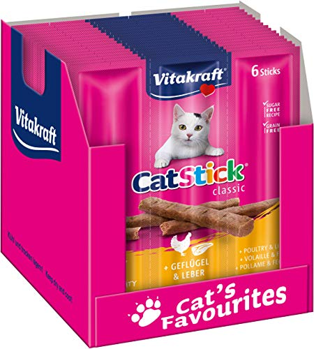 Vitakraft Cat-Stick Mini - Friandise premium pour chat...