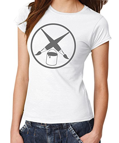 - Maler Zunft - Girls T-Shirt Weiß, Größe M