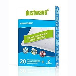 10 Sacchetto per aspirapolvere per Rowenta City Space RO 2465 WA Sacchetto per la polvere 2 FILTRI