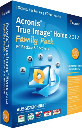 Acronis True Image Home 2012 Family Pack (3PC)