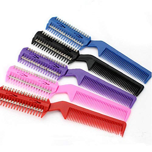 YITON Pet Comb Random Color Dog Brush Comb Puppy Dog Cat Hair Trimmer Slicker Brush Cleaning Tool For Pet Grooming Comb 2Pcs