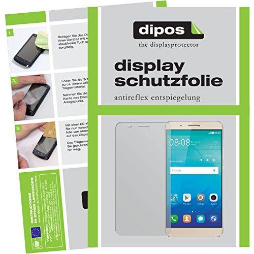 dipos I 2X Schutzfolie matt kompatibel mit Huawei ShotX Folie Bildschirmschutzfolie
