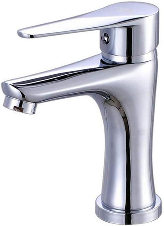 Basin Taps Swivel Spout Faucet Kitchen Faucets Brass Electroplate Polished Silver Basin Faucet Single Handle Hole Mixer Tap