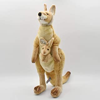 "HANSA Plush - 18"" Mama and Joey Kangaroo"