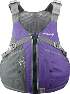 Stohlquist Women's Flo Life Jacket/Personal Floatation Device (Purple/Gray, Medium/Large)