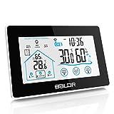 BALDR TP55 V3 Digital Thermometer-Hygrometer, schwarz
