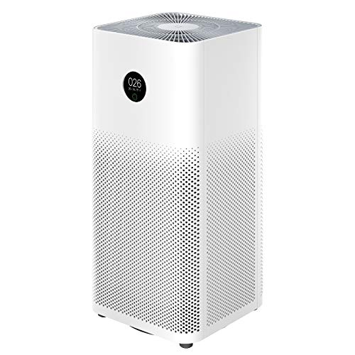 Xiaomi Mi Smart Air Purifier 3H Luftreiniger mit OLED-Touchscreen-Display, hochpräziser Laser-PM-Sensor, APP Smart Control, 360 ° HEPA-Filter, 380 m³ / h PM-CADR