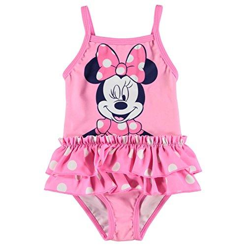 Character, costume da bagno da bambina Disney Minnie 12-18 Mesi